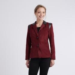 """Pattern Nathalie """"Motard"""" - Jacket - 36/44 (US/UK: 4/8, 12/16) - Expert"""