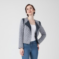 "Pattern Nolwenn ""Motard""- Jacket - 34/48 (US/UK: 2/6, 16/20) - Advanced"