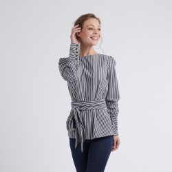 Pattern Emma - Blouse - 34/46 (US/UK: 2/6, 16/20) - Intermediate