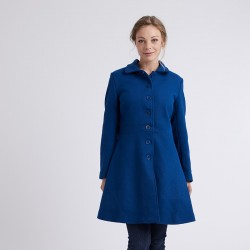 Pattern Nuage - Coat- 34/48 (US/UK: 2/6, 16/20) - Advanced