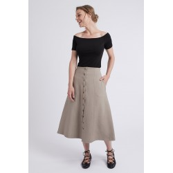 Pattern Sabine - Skirt- 34/48 (US/UK: 2/6, 16/20) - Intermediate