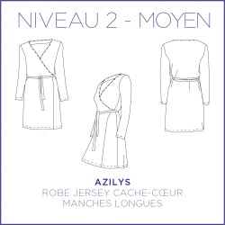 Pattern Azilys - Dress - S/XL - Intermediate