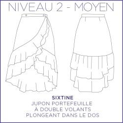 Patron Sixtine - Jupe - 34/48 - Moyen
