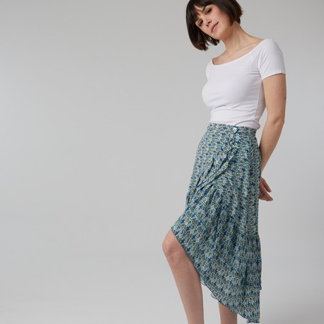Pattern Sixtine - Skirt - 34/48 (US/UK: 2/6, 16/20) - Intermediate