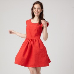 Pattern Aurore - Dress - 34/46 (US/UK: 2/6, 14/18) - Intermediate