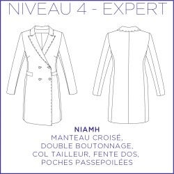 Patron Niamh - Manteau - 34/48 - Expert