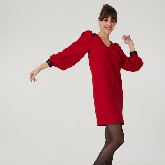 Pattern Auriane - Dress - 34/48 (US/UK: 2/6, 16/20) - Intermediate