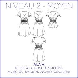 Patron Alaïa - Robe & blouse - 34/48 - Moyen