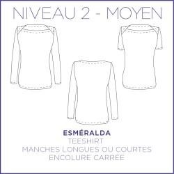 Pattern Esmeralda - T-Shirt - S/XL - Intermediate