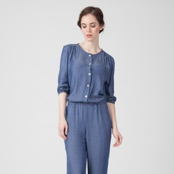 Pattern Astrid - Jumpsuit - 34/46 (US/UK: 2/6, 14/18) - Intermediate