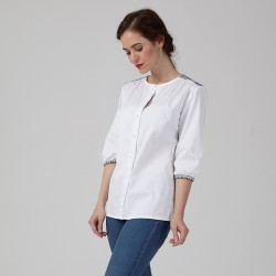 PDF Agnès - Shirt & Dress - 34/46 (US/UK: 2/6, 14/18) - Intermediate