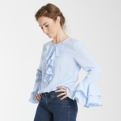 PDF Elodie - Blouse - 34/46 (US/UK: 2/6, 14/18) - Intermediate