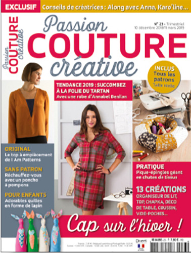 COUVERTURE PASSION COUTURE CREATIVE