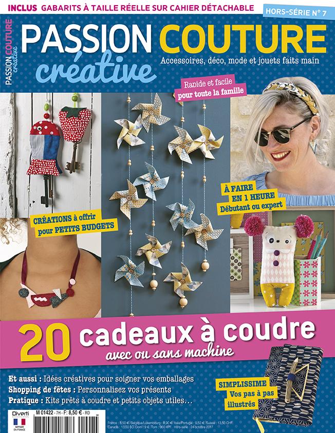 Couverture Passion couture créative