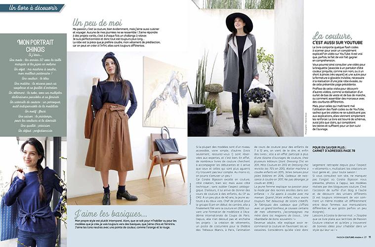 Couture femme toutes saisons par Passion Couture Créative